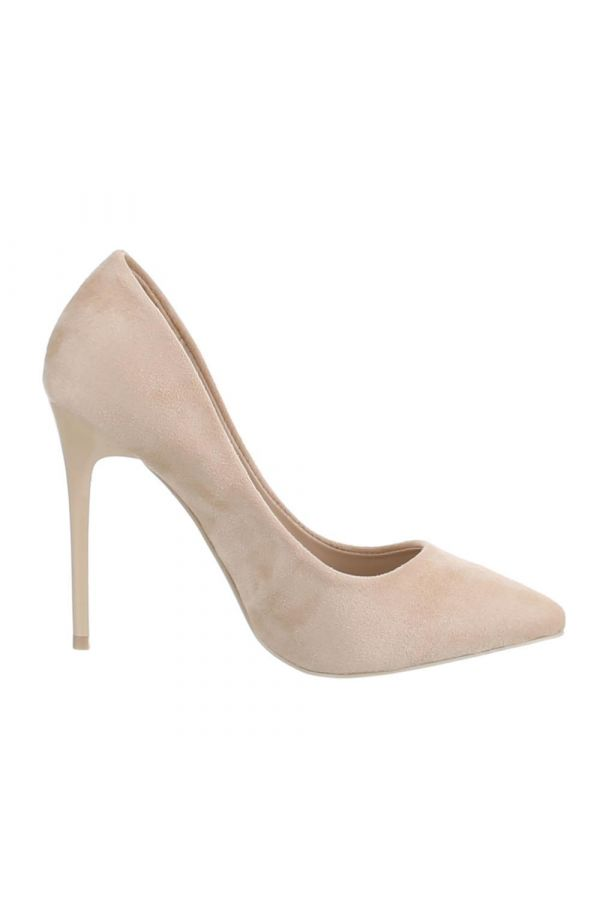 SW501513 PUMP POINTED SUEDE BEIGE