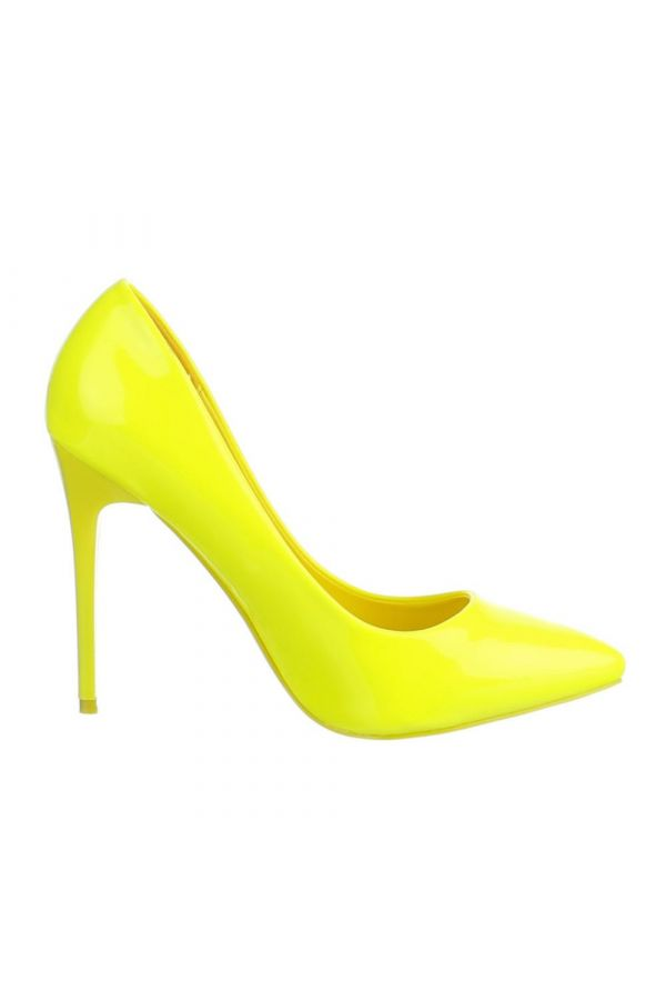 SW501523 PUMP POINTED PATENT YELLOW
