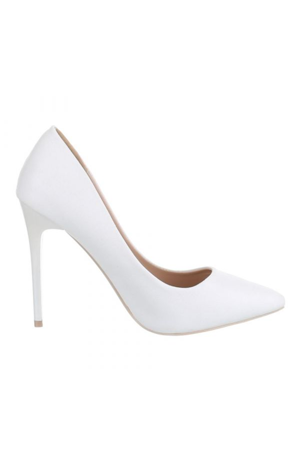SW501527 PUMP POINTED WHITE
