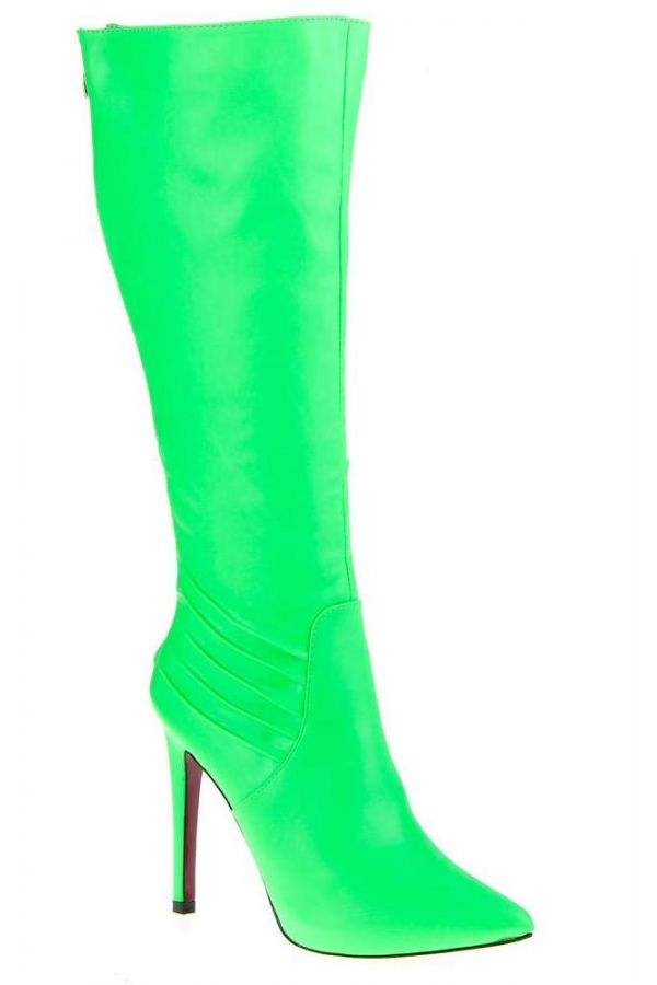 SW66611 BOOT POINTED GREEN