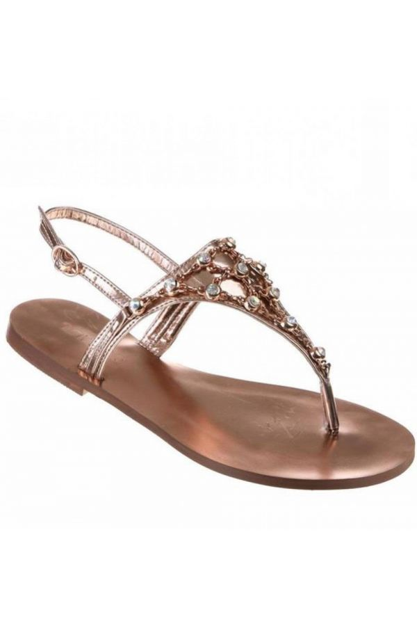 SW8408 SANDAL FORMAL CHAMPAGNE