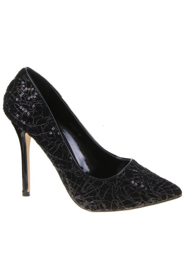 SW9348 PUMP POINTED BLACK