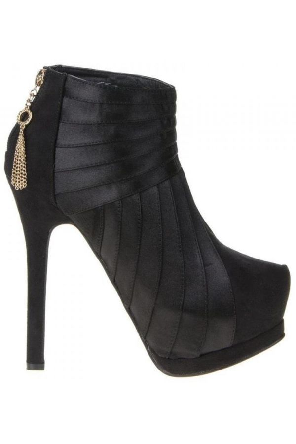 SWL2060 ANKLE BOOT SUEDE BLACK