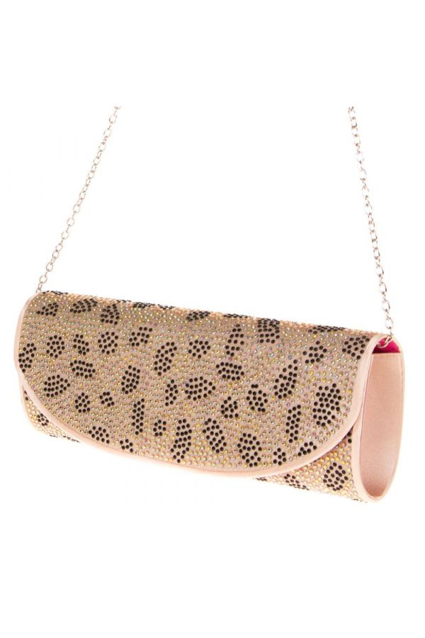 SWT361 PURSE STRASS CHAMPAGNE