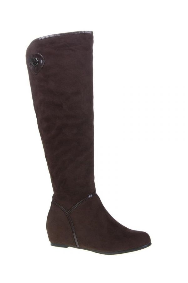 SWT79 BOOT SUEDE BROWN