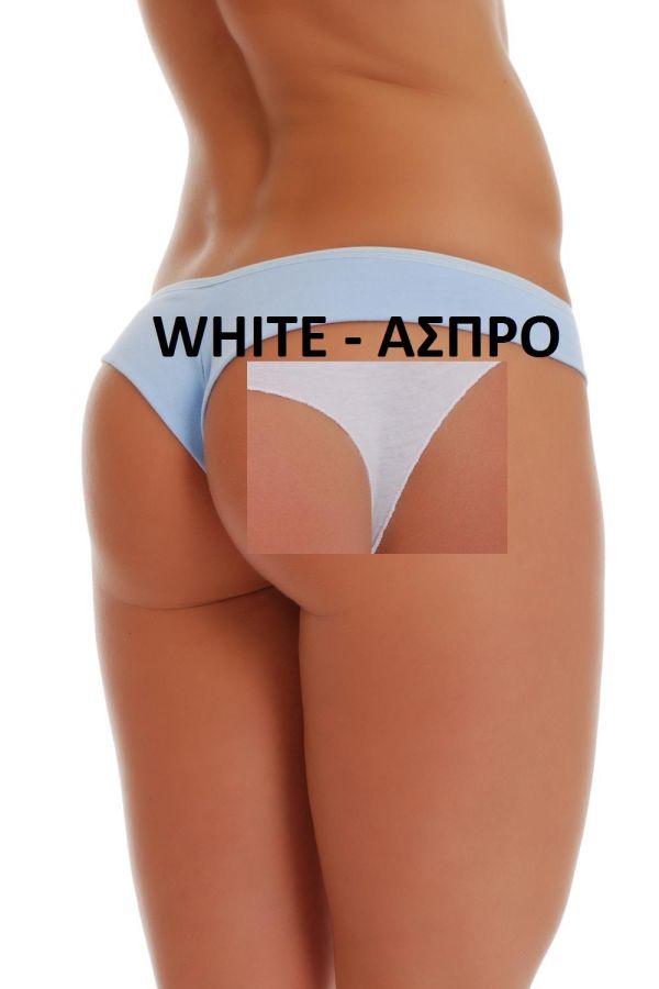 BRAZILIAN ΕΣΩΡΟΥΧΟ ΣΛΙΠ ΑΣΠΡΟ TG171073