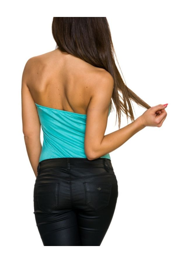 BODY TOP STRAPLESS TURQUOISE Q2023742