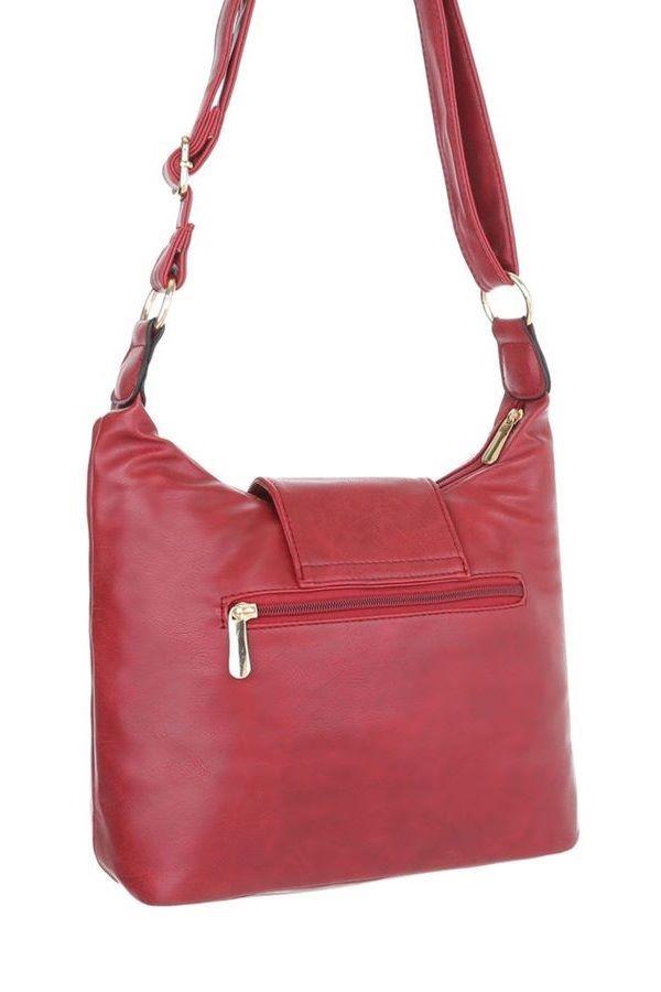 BAG SHOULDER STRAPS RED FSW25091